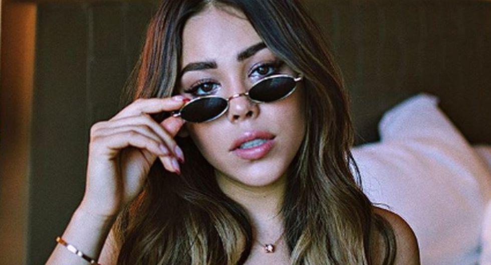 Danna Paola ha sorprendido a todos al imitar la voz de Belinda a la perfección y ha generado cientos de comentarios (Foto: Instagram)