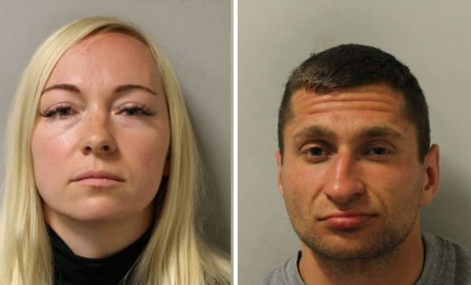 Asta Juskauskiene (izda.) y Mantas Kvedaras (dcha.) cumplirán una condena en prisión por el asesinato del marido de la primera. (London Metropolitan Police)