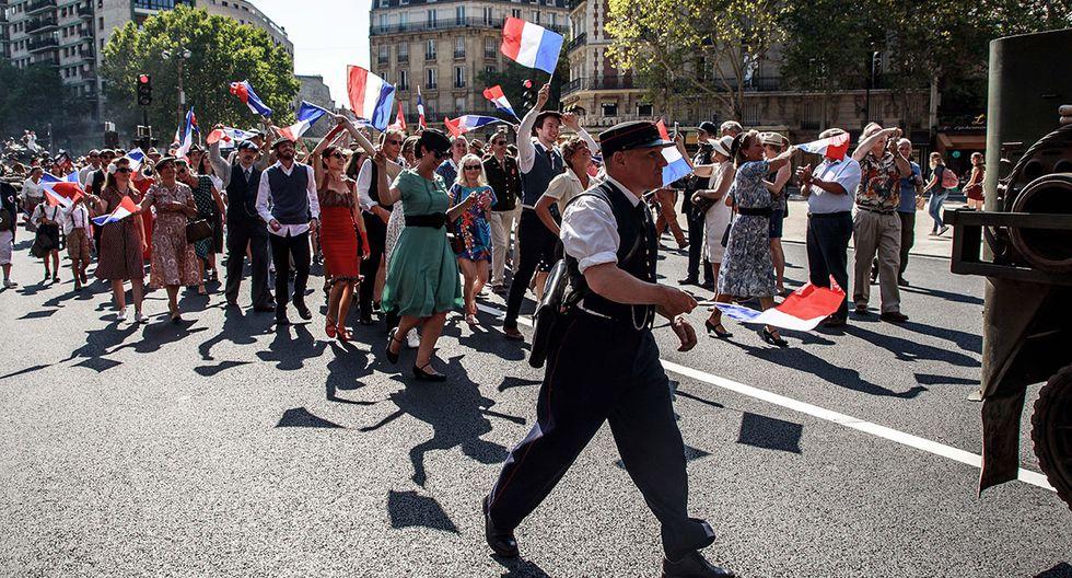 París fue ocupada por los nazis por un espacio de 1.500 días. (Foto: EFE)
