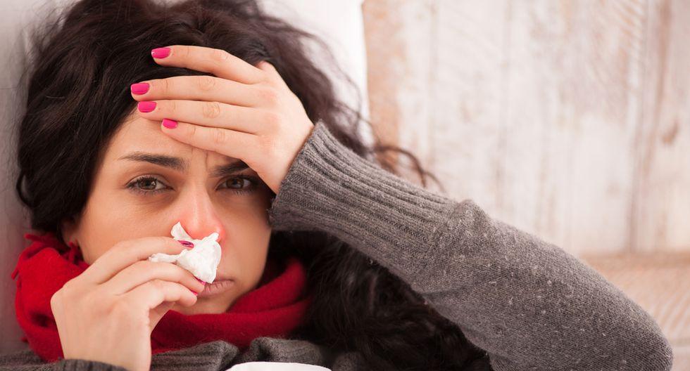 Gripe o resfrío (Shutterstock)