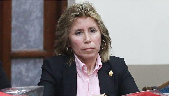 Fiscal Sandra Castro aseguró que caso Los Cuellos Blancos del Puerto está avanzado en un 50%. (Foto: GEC)