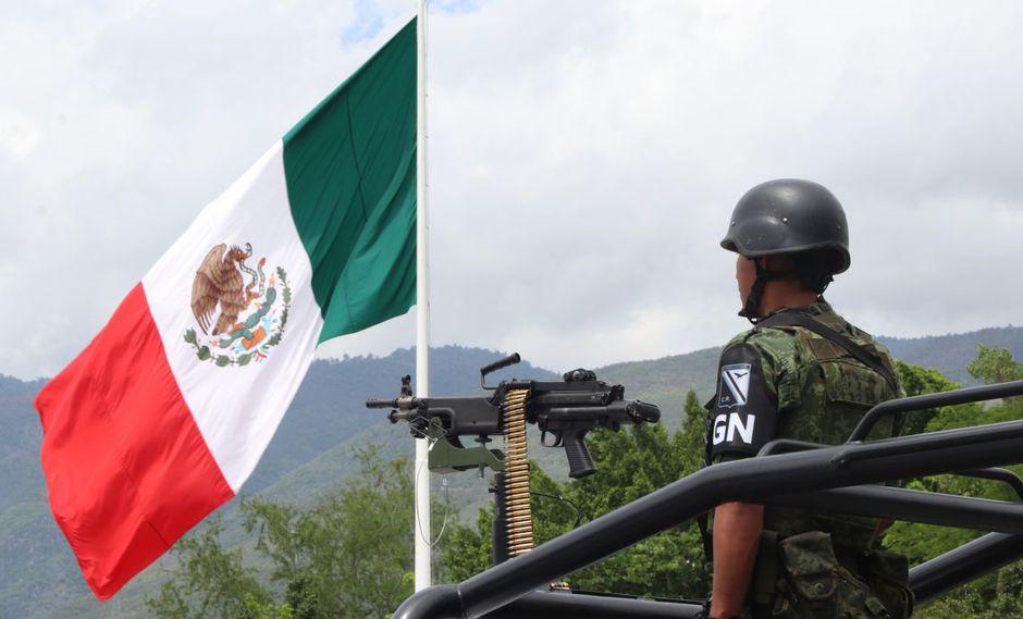 Policías se muestran en contra de la Guardia Nacional en Ciudad de México