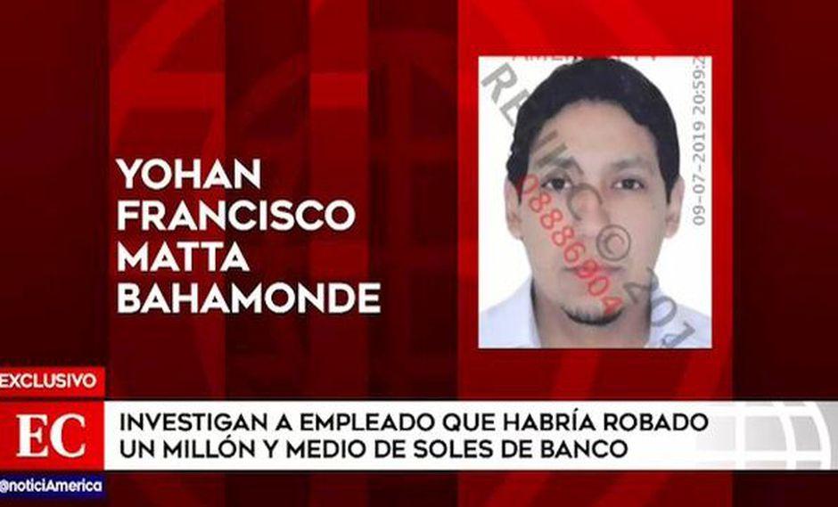 Empleado es sospechoso de robar un millón y medio de soles de bóveda de banco en Ventanilla