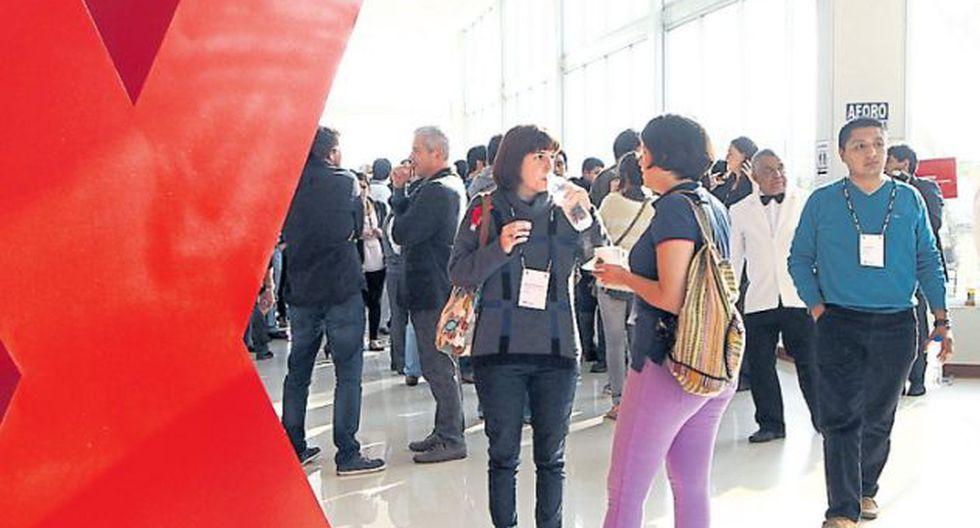 Aparte de presenciar las charlas, los asistentes tienen espacios de networking para encontrarse con más gente que trabaja en sus temas. / DIFUSIÓN