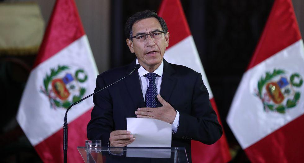 En Lima, el presidente Martín Vizcarra obtuvo un 62% de respaldo, mientras en el interior del país, el 56%. (Foto: GEC)