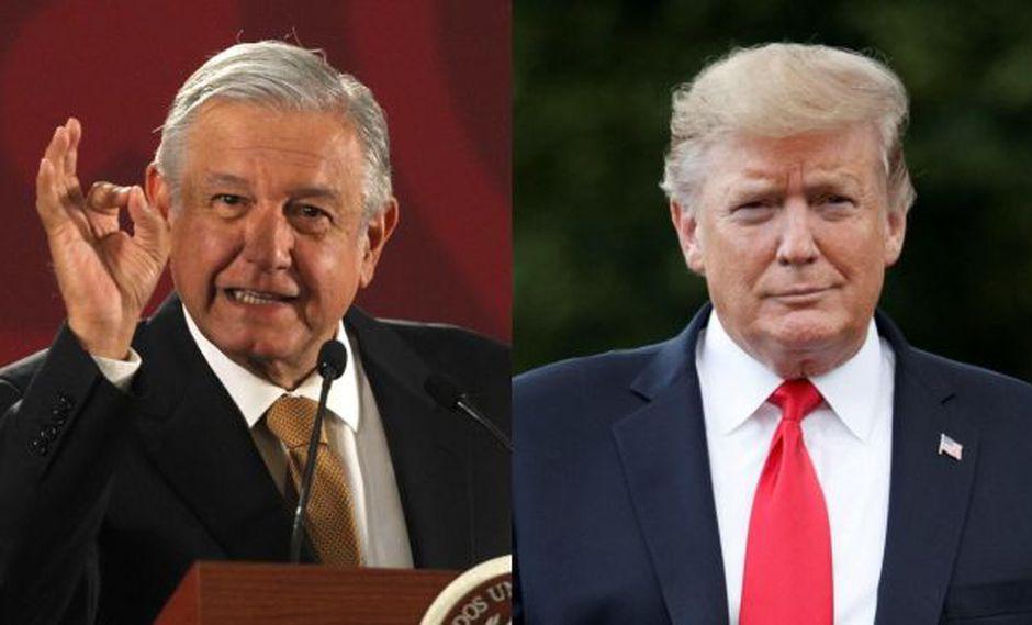 """AMLO le expresa a Donald Trump su máxima política: """"Amor y paz"""""""