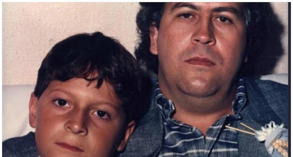 Hijo de Pablo Escobar lo recordó con mucha nostalgia