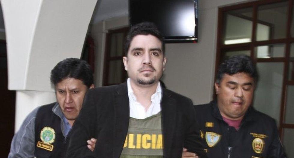Adriano Pozo fue condenando a 11 años de prisión por el delito de tentativa de feminicidio en contra de Arlette Contreras. (Foto: GEC/Archivo)