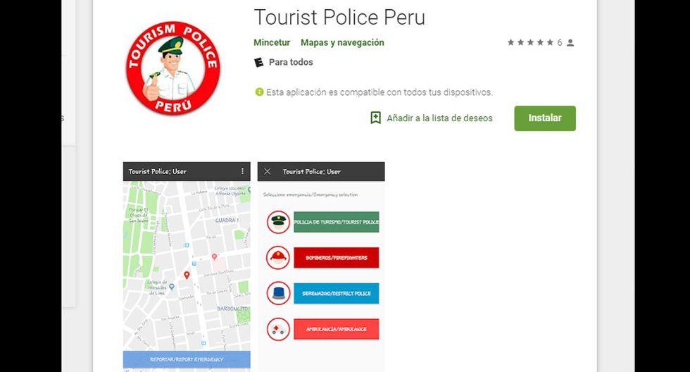 El aplicativo es gratuito y se puede descargar en smartphone y tablet. (Play Store)
