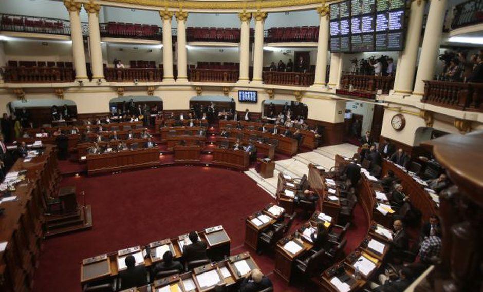 """Pleno del Congreso debate hoy informes de """"megacomisión"""""""