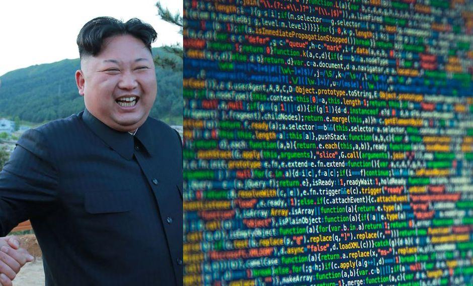 El código utilizado por el ataque muestra similitudes con códigos anteriores de pirateos de Corea del Norte. (Foto: AFP)