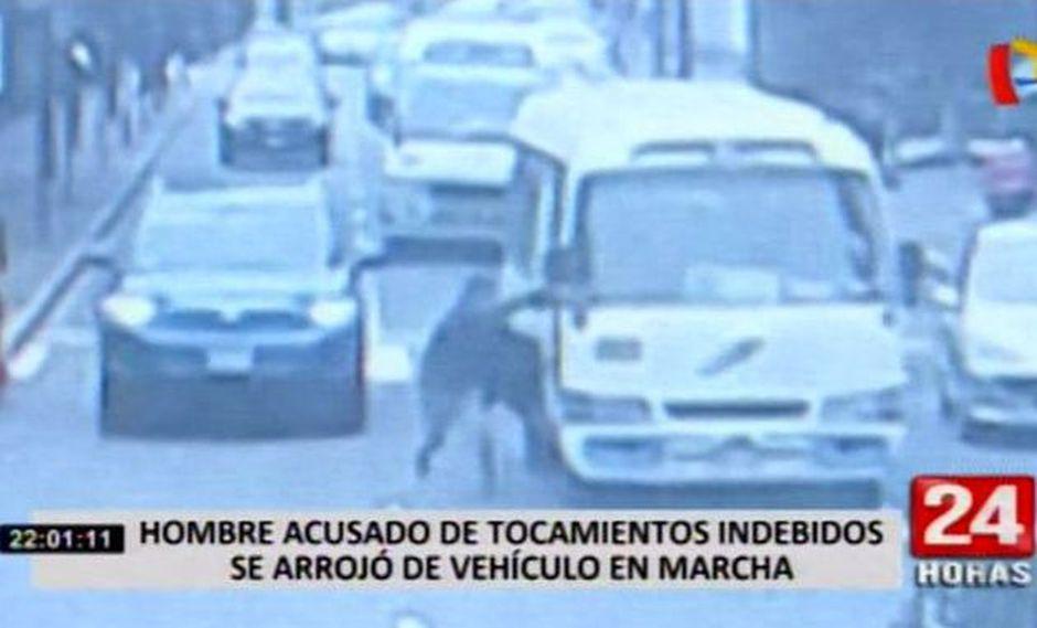 La joven contó que el acusado tendría dos denuncias más por tocamientos indebidos en el Metropolitano. (Foto: 24 Horas)