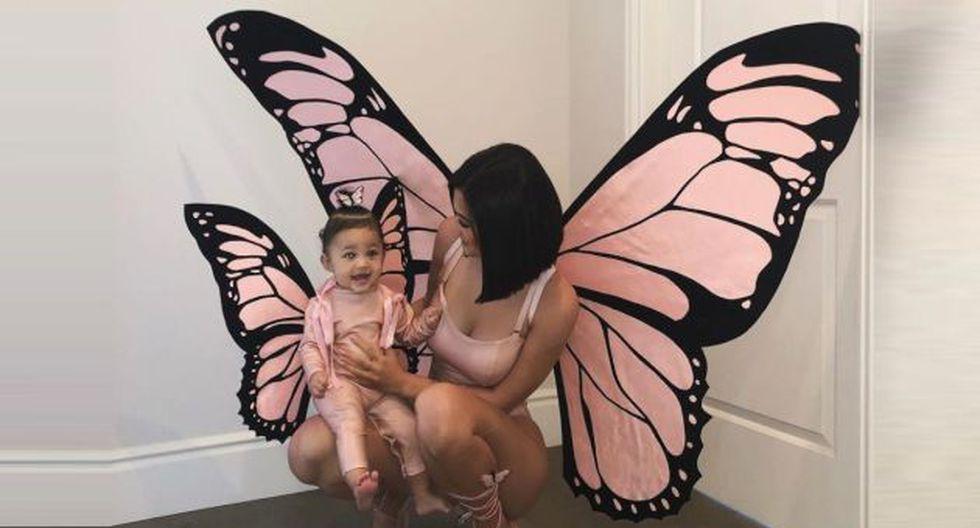 Jenner publicó hermosa fotografía junto a su hija. (Foto: @kyliejenner)