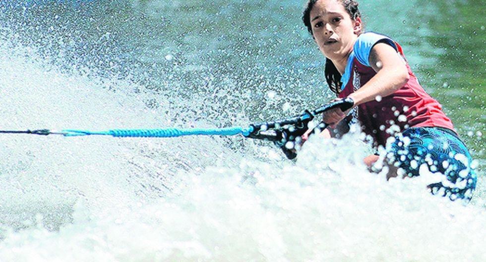 Natalia Cuglievan, favorita para subir al podio de esquí acuático junto a su hermana Delfina. (Foto: USI)