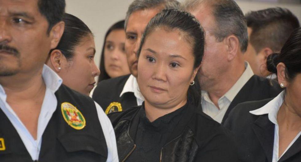 Fujimori Higuchi ha sido trasladada al penal Anexo de Mujeres en Chorrillos en donde cumple 18 meses de prisión preventiva.(Foto: GEC)