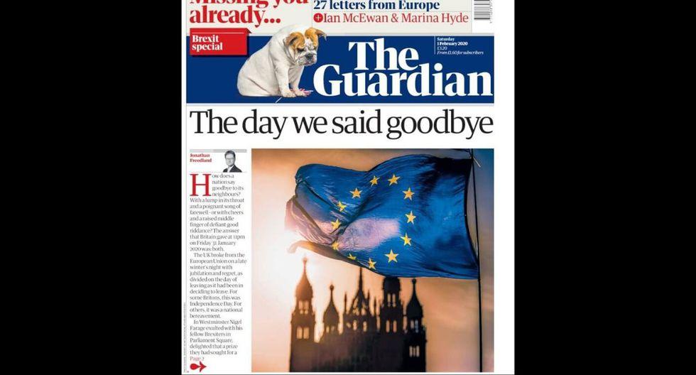 Diarios británicos por el Brexit