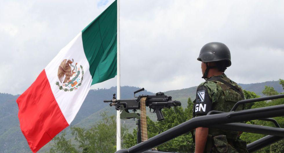 Agentes de la Guardia Nacional llegaron este martes 3 de julio al estado de Guerrero. (Foto: EFE)