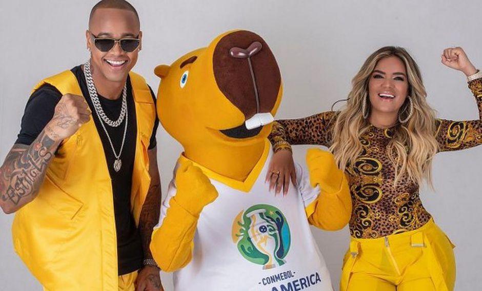 """Karol G y Leo Santana interpretarán la canción """"Vibra el Continente"""". (Foto: @umusicbrasil)"""