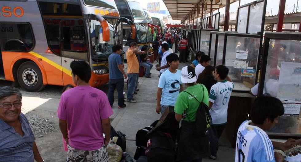 Terminal terrestre en Lima deberán colocar avisos preventivos sobre acoso sexual. (Foto: Andina)