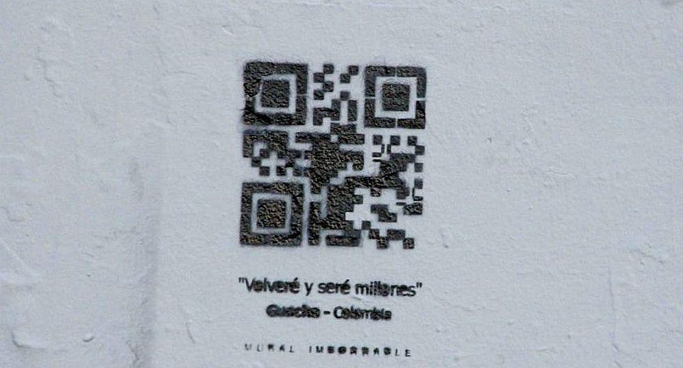 Escanéalo y verás lo que pasa (Foto: Facebook)