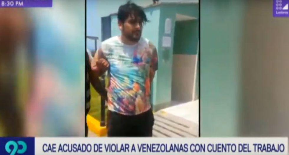 Paolo Obregón Ruesta (33) colocaba avisos en las redes sociales solicitando los servicios de venezolanas para cuidar a sus dos supuestos hijos. (Latina)