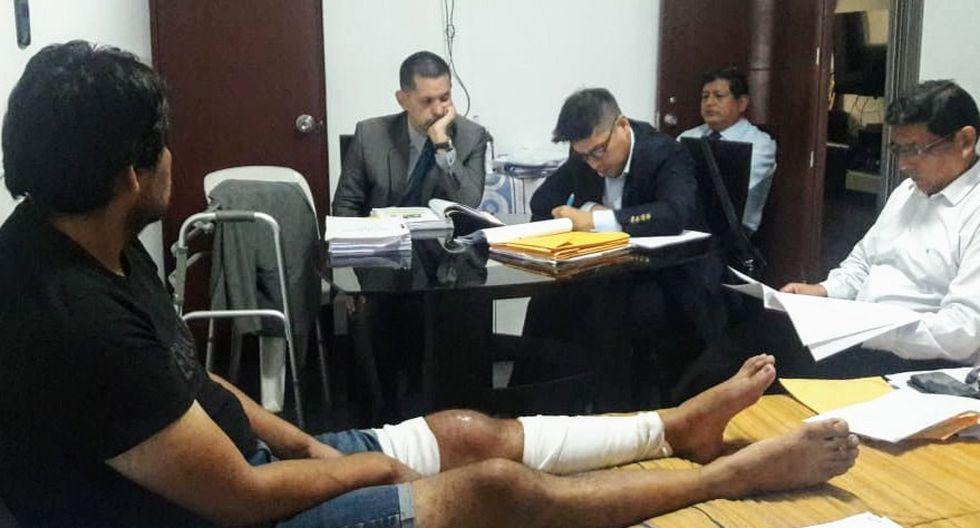 Luis Guzmán Escriba, gerente general de la empresa Transgas, respondió por tragedia en VES. Permanece con descanso médico. (Foto: MP)