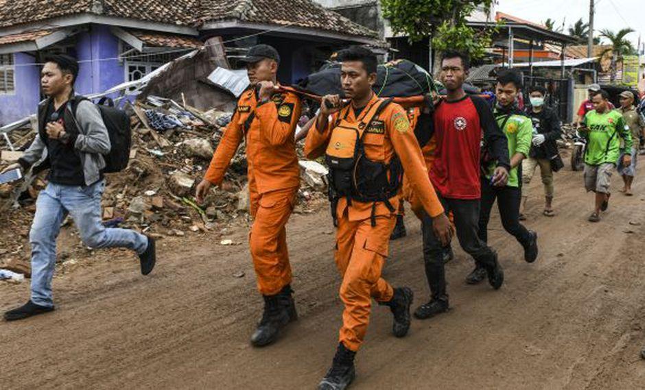Indonesia: Rescatistas trabajan en zonas remotas tras el tsunami