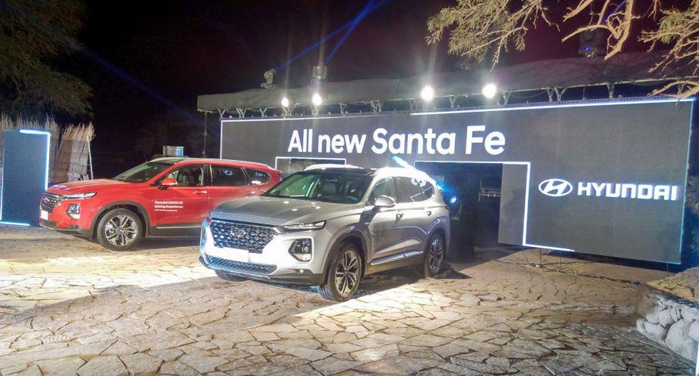 Presentación de la All New Santa Fe en San Pedro de Atacama, Chile. (Carlos Espinoza)