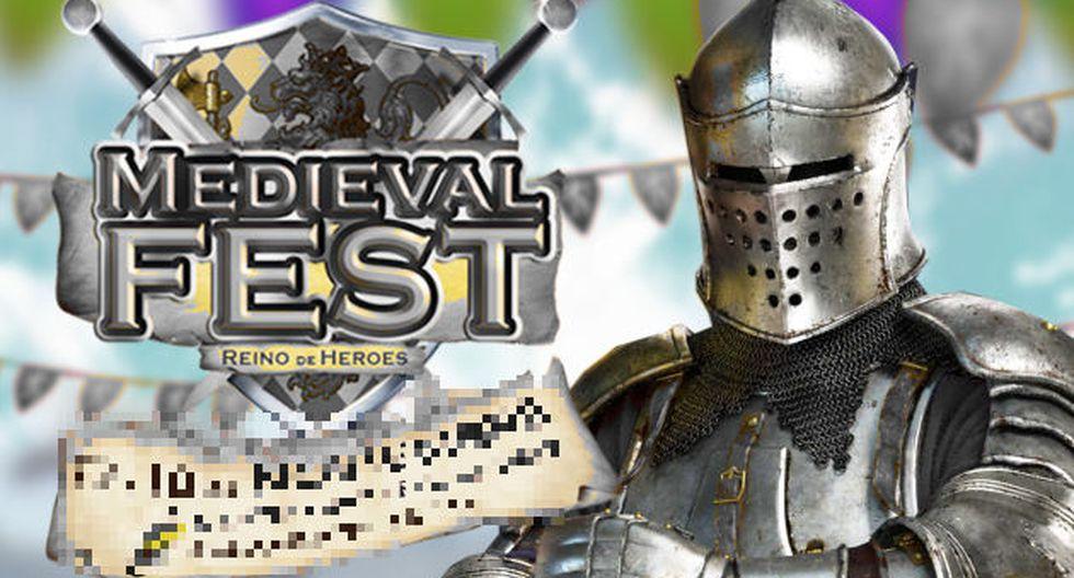 Medieval Fest el 17 y 18 de noviembre.