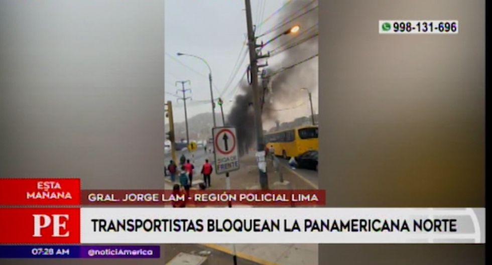 Conductores de taxi colectivos exigen destitución del directorio de la Sutran. (Captura: América Noticias)
