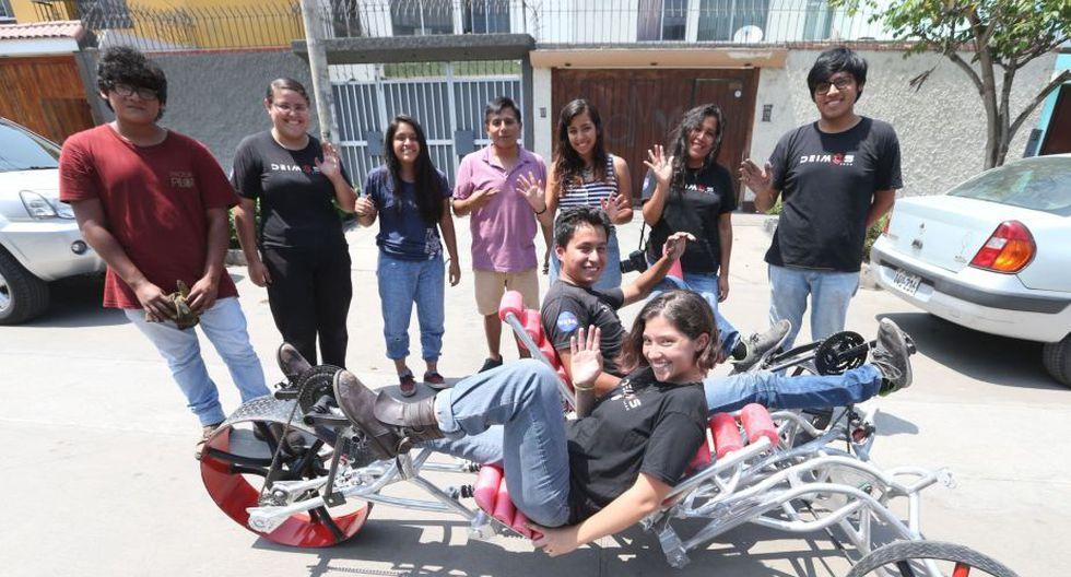 Deimos Perú - NASA Rover Challenge esperan ganar este año el Premio a Mejor Diseño y Mejor Diseño de Rueda. (Foto: Andina)
