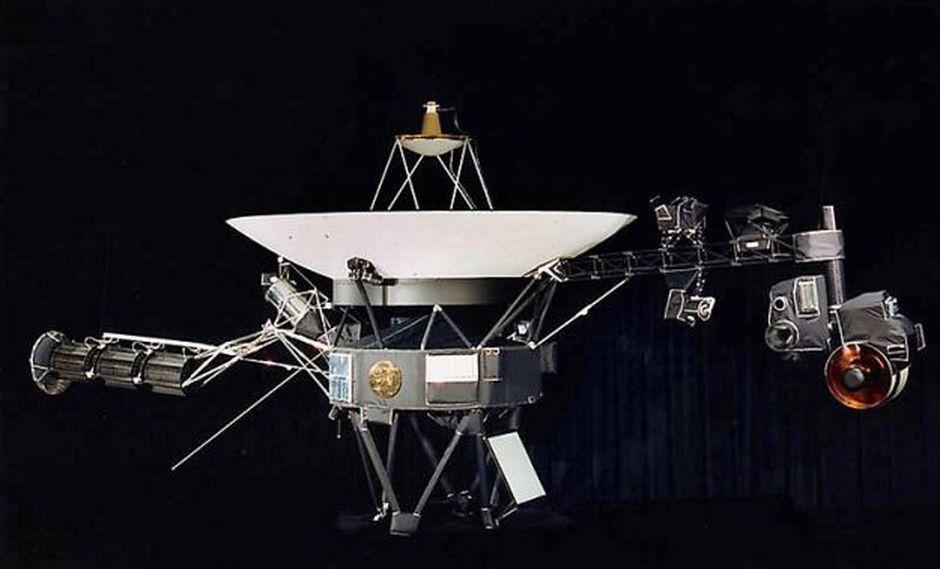 Una de las dos sondas Voyager que tiene como objetivo estudiar los planetas exteriores del Sistema Solas (Foto: AFP)
