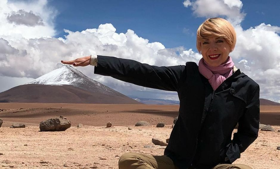 Edith González quería grabar una película en el Perú | VIDEO