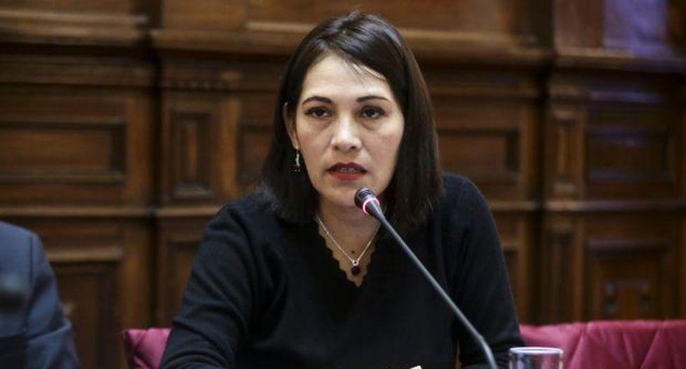 Milagros Salazar detalló que Fuerza Popular apoyaría una candidatura de Keiko Fujimori al Congreso. (Foto: GEC)