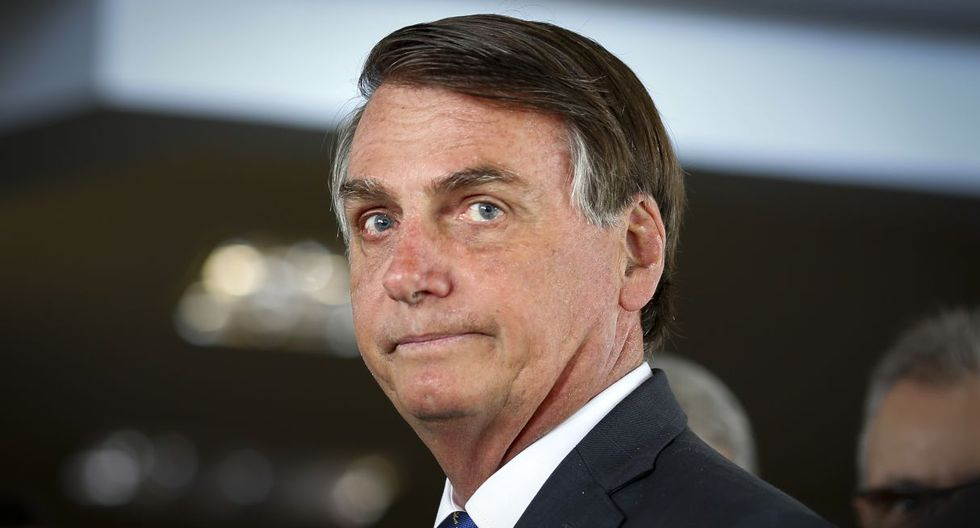 Hijo de Jair Bolsonaro desmiente a prensa internacional: Presidente dio negativo por coronavirus. (AFP).