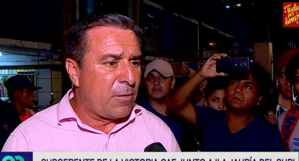 Filiberto Campos fue subgerente de Fiscalización de La Victoria. (Latina)