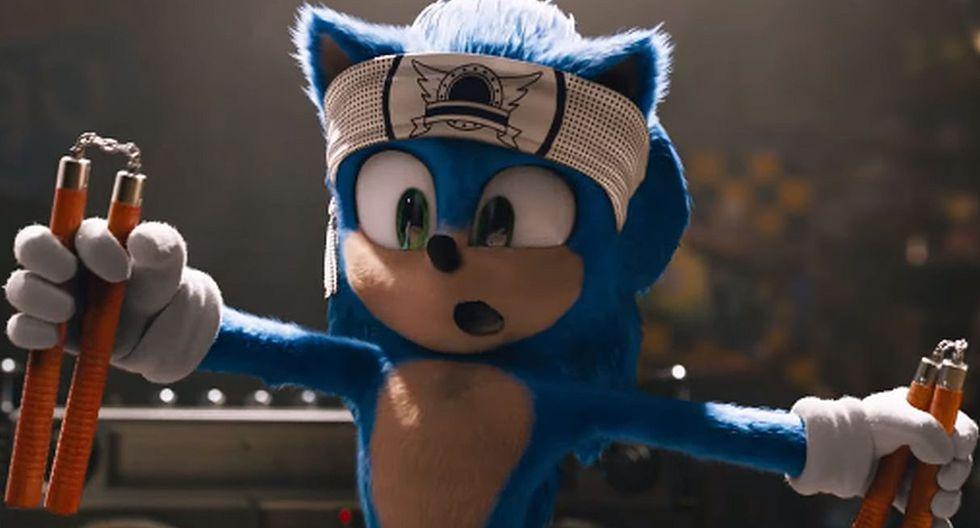 """""""Sonic: the Hedgehog"""" presentó su tráiler oficial con el nuevo diseño del popular personaje. (Foto: Captura)"""