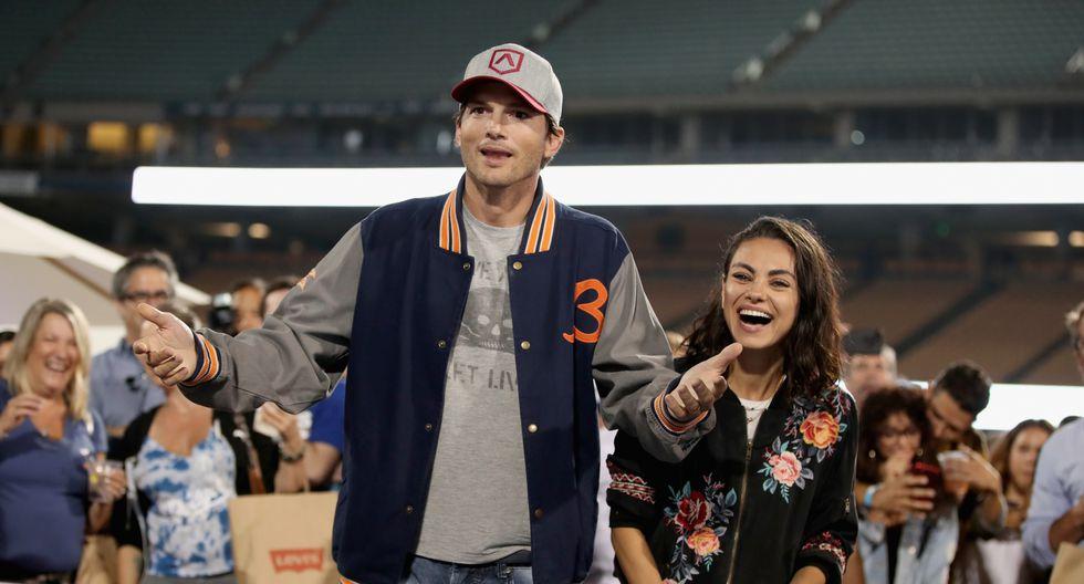 Ashton Kutcher y Mila Kunis bromean sobre el fin de su relación (Foto: AFP)