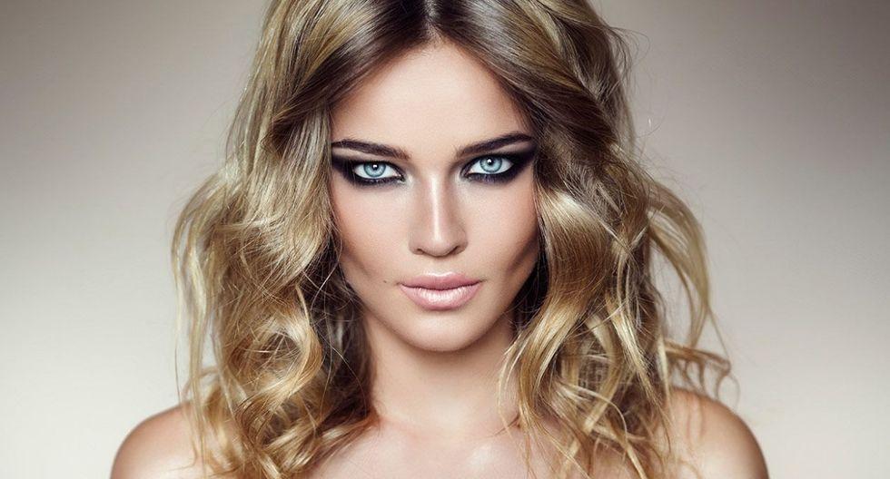 Smokey eyes (Ojos ahumados). (Foto: L'Oréal)