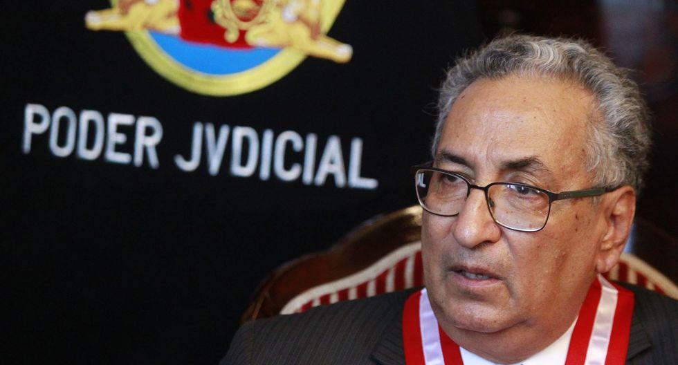 José Luis Lecaros perdió la elección para integrar el JNE como representante del Poder Judicial ante Víctor Ticona en 2016. (Foto: Andina)