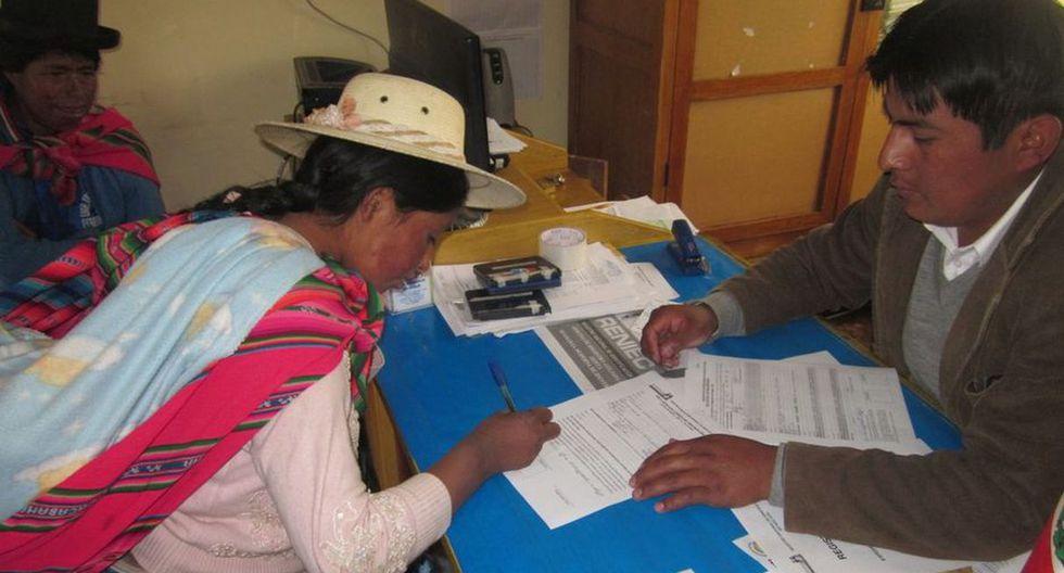 Al incorporar dos nuevas lenguas, el Registro Civil Bilingüe ya comprende siete lenguas amazónicas. (Foto: Reniec)