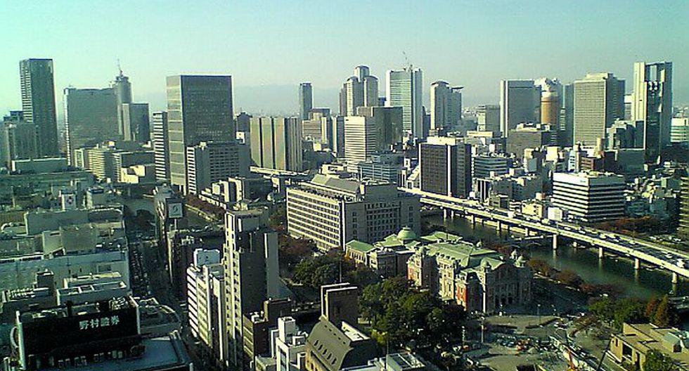 Ciudad más segura: 3) Osaka, Japón