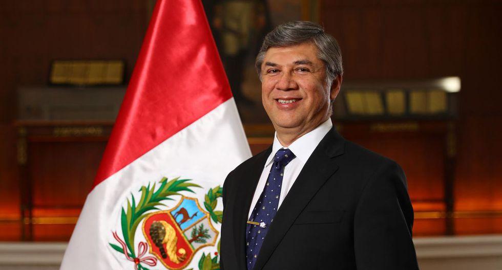 Miguel Estrada Mendoza, ministro de Vivienda, Construcción y Saneamiento. Dejó el cargo el 30 de septiembre de 2019. (Foto: Presidencia Perú)