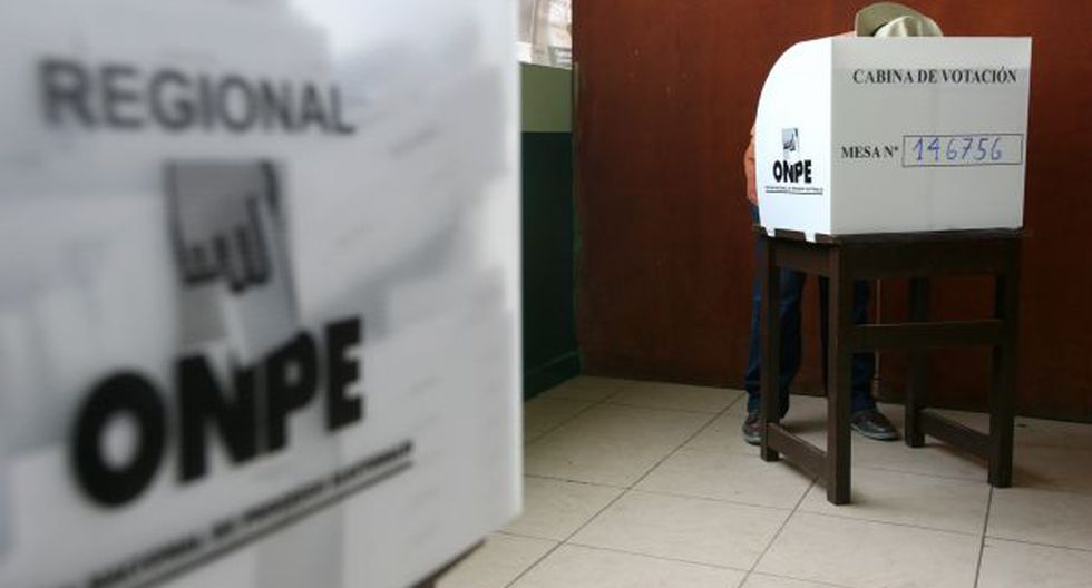 Las elecciones regionales reportan problemas. (Foto: USI)