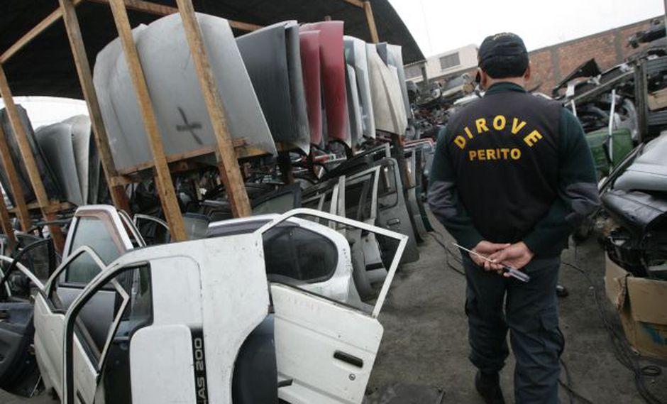 83% de autos robados son recuperados