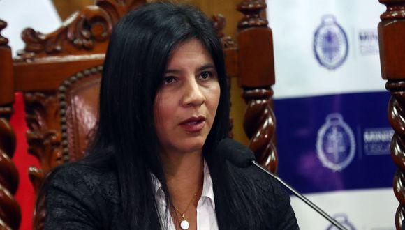 Silvana Carrión participará en un evento de la OCDE del 9 al 13 de este mes en París, Francia. (Foto: Agencia Andina)