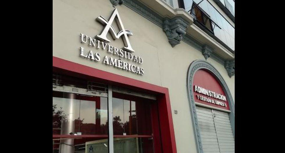La Universidad Peruana Las Américas deberá cesar sus actividades en dos años como máximo. Asimismo, no podrá captar nuevos ingresantes. (Foto: Sunedu)