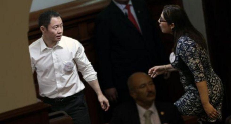 """Congresista Úrsula Letona afirma en la querella que la acusación de Kenji Fujimori le ha producido un enorme """"daño moral"""" (USI)"""