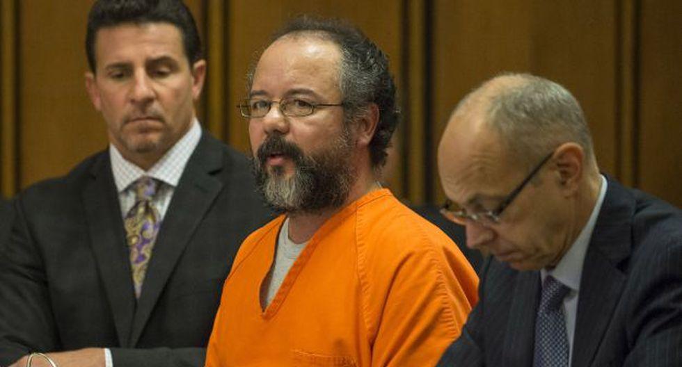 Ariel Castro durante el juicio que lo condenó a cadena perpetua (Foto: AFP)