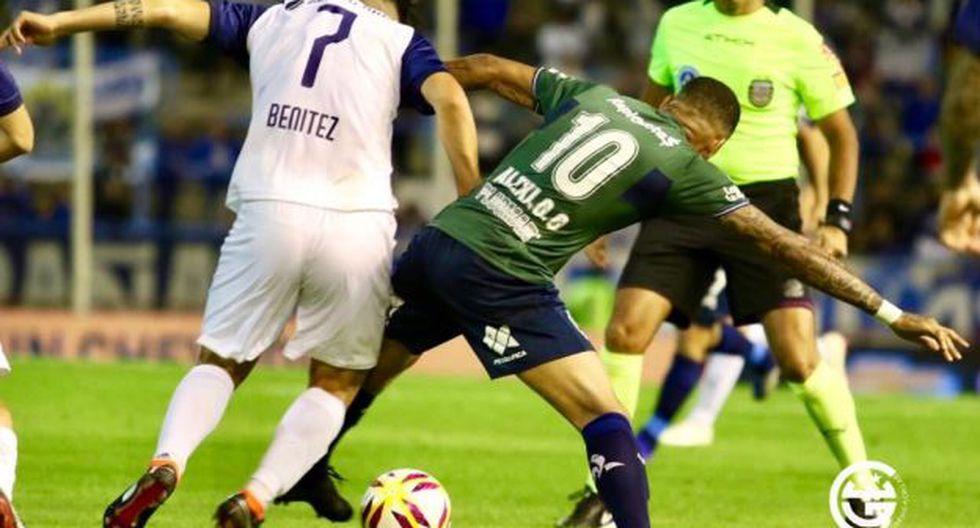 Alexi Gómez firmó un año de contrato por Gimnasia La Plata. (Foto: Gimnasia)